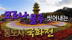 <span style='color:#bbb;font-weight:bold;'>[영상] 코로나블루 씻어내는 통도사 국화전</span>